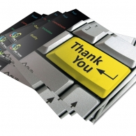 M&S-One Team - Thank You Card Design
