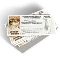 event ticket design