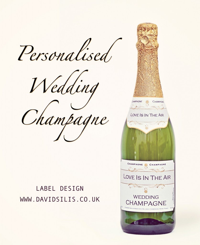 personalised wedding champagne labels professional With champagne labels for weddings