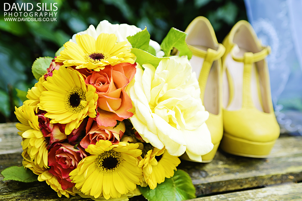 yellow wedding photo shoot