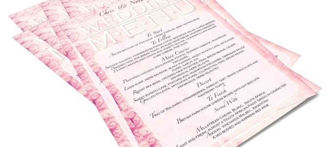 WEDDING STATIONERY DESIGNER |