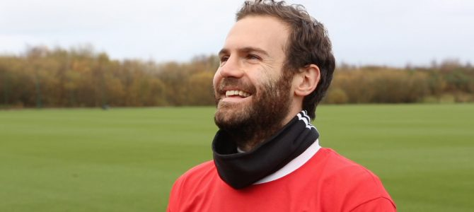 "Juan Mata for ""Finding You"" Campaign"